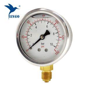 2018 60mm çelik presion matës presioni eksportues manometër ce