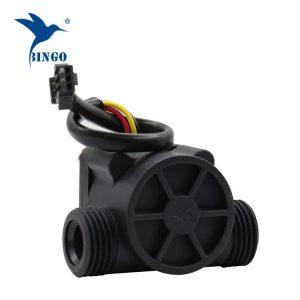 Tubat e sensorëve të rrjedhës së ujit të materialit të zi PP