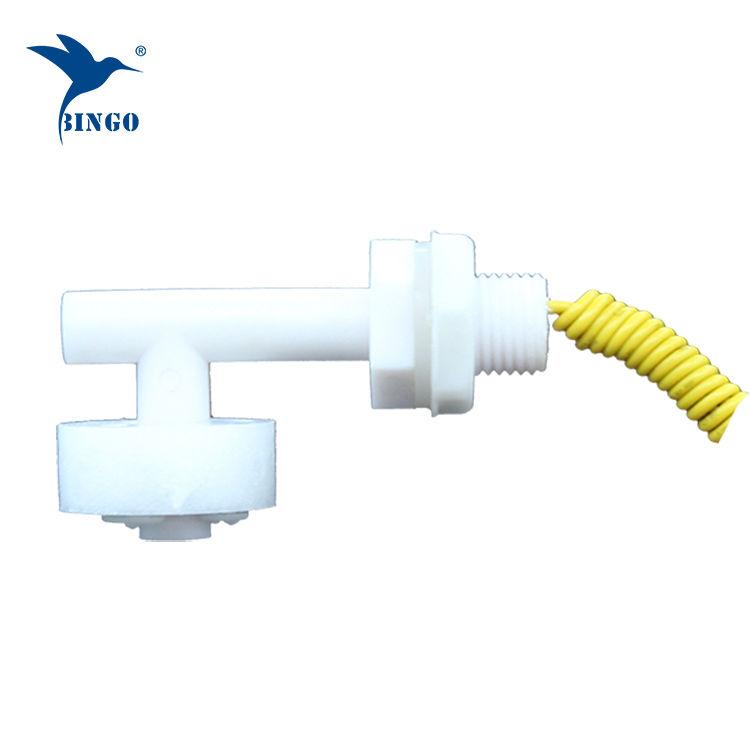 Llapë plastike horizontale me formë plastike L për rezervuarin e ujit