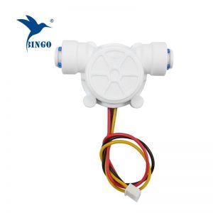 g1 / 4 tub pe 0,2-8l / min sensor 3,5-12vdc rrjedhin uji