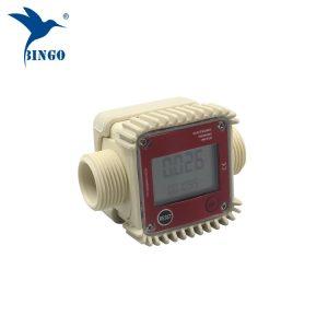 me cilësi të lartë 10-120L / min ujë dixhital me ujë të karburantit turbinë elektronike metër
